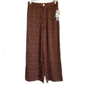 Urban Outfitters High Waist Polka Dot Pants Size S